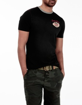 Basics Life Solid Men's Round Neck T-Shirt