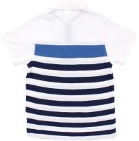 Max Striped Boy's Polo Neck T-Shirt