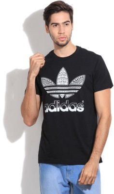 Adidas Originals Solid Men's Round Neck T-Shirt