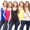Exhort Fashion Solid Women's Round Neck T-Shirt