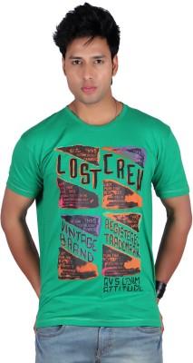 Raves Printed Men's Round Neck T-Shirt