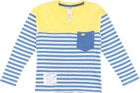 Max Striped Boy's Henley T-Shirt