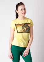 Wildcraft Printed Women's Round Neck T-Shirt