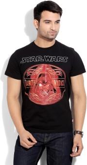 Star Wars Printed Men's Round Neck T-Shirt - TSHEYHZ4THAJU4ZZ