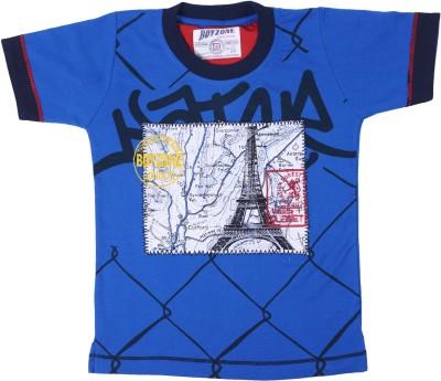 Boyzone Graphic Print Boy's Round Neck T-Shirt