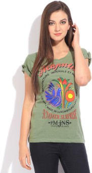 Flying Machine Women's T-Shirt - TSHEBFN2ZJ2DUHJY