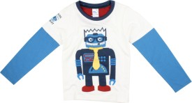 Max Solid Boy's Round Neck T-Shirt