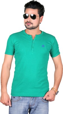 Cute Collection Solid Men's Round Neck T-Shirt