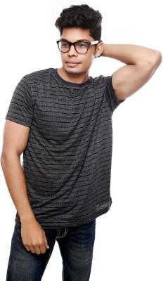 Viral Lifestyle Striped Men's Round Neck T-Shirt