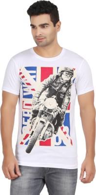 Elroe Graphic Print Men's Round Neck T-Shirt
