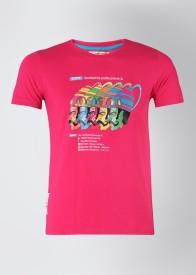 Duke Printed Men's Round Neck T-Shirt