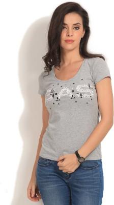 GAS Printed Women's Round Neck T-Shirt