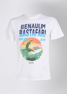 Buy uv w printed men 39 s round neck t shirt on flipkart for Uv t shirt printing