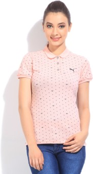 Puma Printed Women's Polo T-Shirt