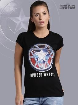 Kook N Keech Marvel Graphic Print Women's Round Neck T-Shirt - TSHEGFJFAQYXQ9UF