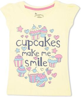 Max Graphic Print Girl's Round Neck T-Shirt - TSHE4CERTPTTHEQ6