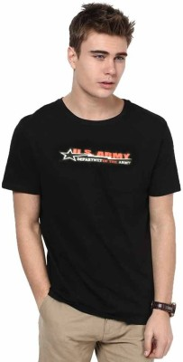 Avison Solid Men,s Round Neck T-Shirt