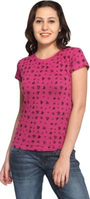 Maatra Printed Women,s Round Neck T-Shirt