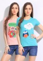 Style Quotient By Noi Printed Women's Round Neck T-Shirt - Pack Of 2 - TSHDTH7ZQZDEGDWT
