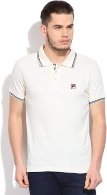 Fila Solid Men's Polo T-Shirt