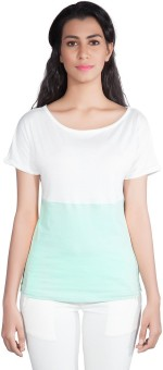 Shyle Solid Women's Round Neck T-Shirt
