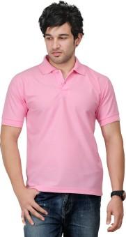 TSX Solid Men's Polo Neck T-Shirt: T-Shirt