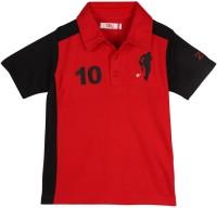 Oye Printed Baby Boy's Flap Collar Neck T-Shirt