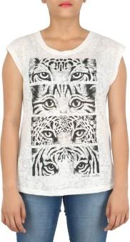 Download Apparel Printed Women's Round Neck T-Shirt - TSHEDHV4WPUFESHG