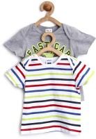SELA Printed Baby Boy's, Baby Girl's Round Neck T-Shirt (Pack Of 2)