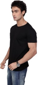 Inkovy Solid Men's Round Neck T-Shirt