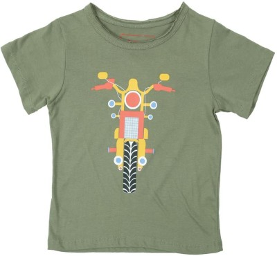 69 Off On Dongli Solid Self Design Boy 39 S Round Neck T