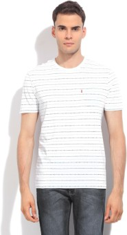 Levi's Men's White T-shirt