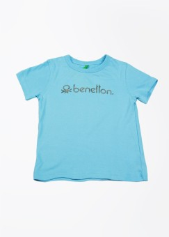 United Colors Of Benetton Solid Boy's Round Neck T-Shirt