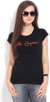 Lee Cooper Solid Women's Round Neck T-Shirt