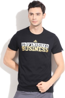 free shipping 9dfe8 0f23c adidas Training Climalite Printed Men s Round Neck T-Shirt for Rs. 1,399 at  Flipkart