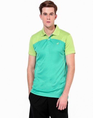 American Crew Solid Men's Polo Neck T-Shirt