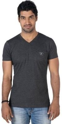 Jockey Radio Jockey Solid Men's V-Neck T-Shirt (Green)