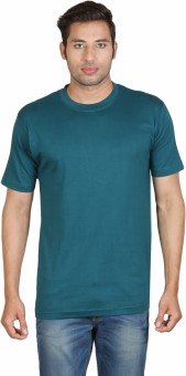 Winfield Solid Men's Round Neck T-Shirt