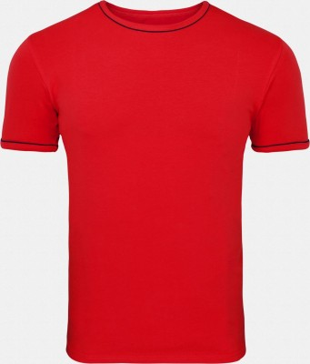 Inkfruit Inkfruit Solid Men's Round Neck T-Shirt (Red)