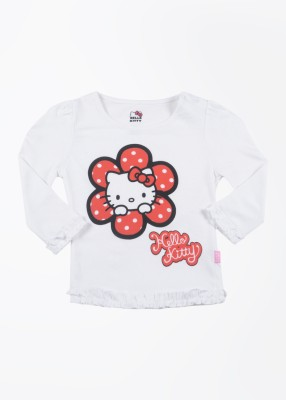 Hello Kitty Printed Round Neck T-Shirt