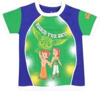 Chhota Bheem Printed Boy's Round Neck T-Shirt - TSHDU8U6WTQGUPTH