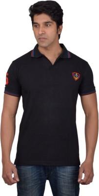 Tavara Solid Men's Polo Neck T-Shirt
