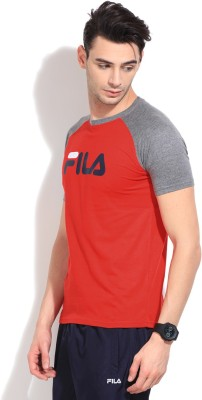 4a22e520d657 Fila Printed Men s Round Neck T-Shirt
