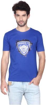 Gol Chennaiyin Fc Printed Men's Round Neck T-Shirt