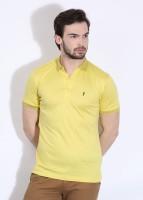 Arrow New York Solid Men's Polo Neck T-Shirt