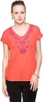 Max Solid Women's V-neck T-Shirt