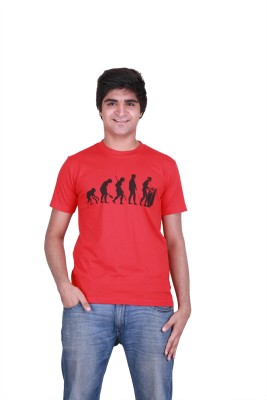 Cool Quotient Graphic Print Men's Round Neck T-Shirt