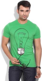 Wear Your Mind Printed Men's Round Neck T-Shirt