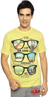 Ajile By Pantaloons Printed Men's Round Neck T-Shirt - TSHE8YZVKTEJ2YQX