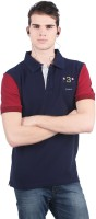 C.Vox Printed Men's Polo Neck T-Shirt